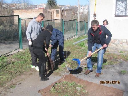 Чистий четвер в управлінні тюремників Тернопільської області