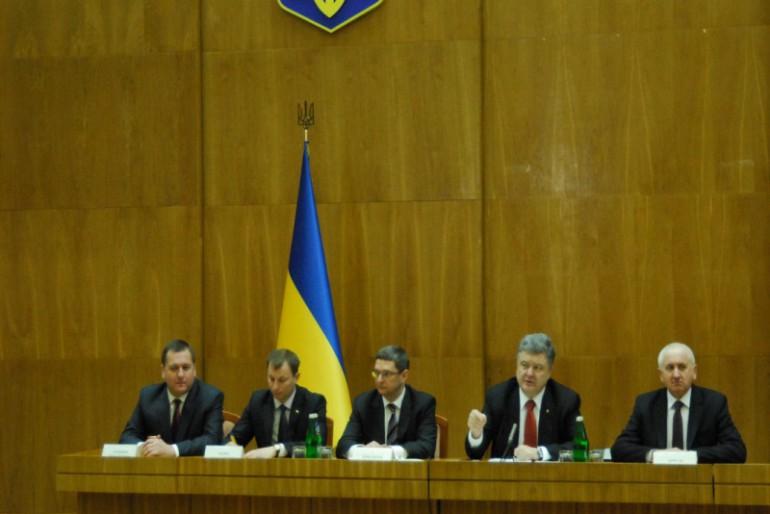 Фоторепортаж з представлення нового голови Тернопільської облдержадміністрації