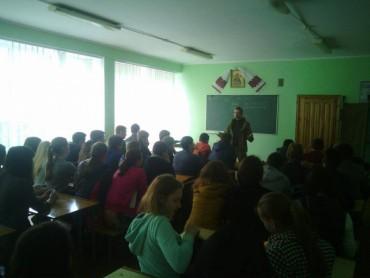 Запасний батальйон ДУК вишколив студентів Тернопільщини