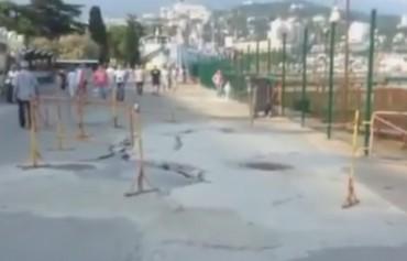 Жители Ялты сняли видео, в котором показали все реалии к чему привела аннексия Крыма Россией
