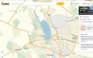 На карті Тернополя шукають неточності