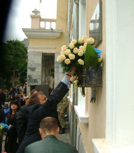 У Тернополі відкрито меморіальну дошку бійцю 128-ї гірсько-піхотної бригади молодшому сержанту Олександру Орляку