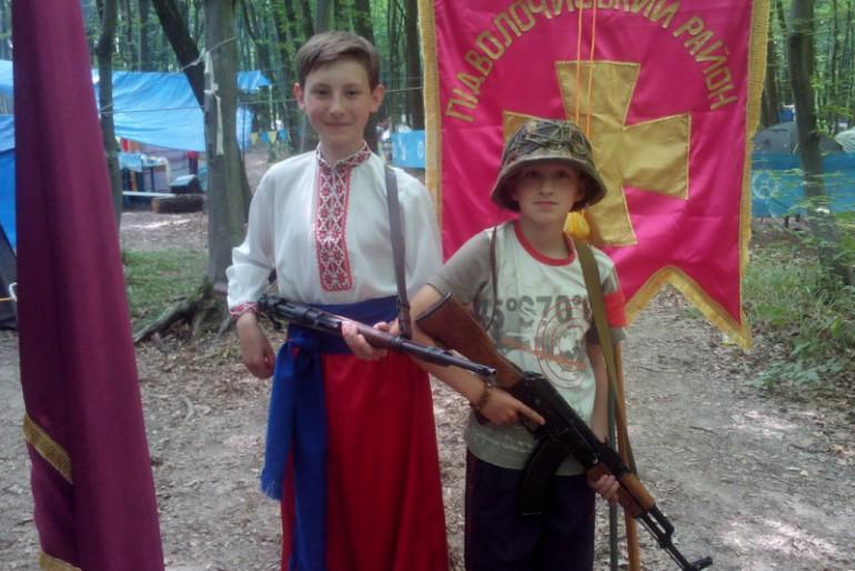 У Теребовлі стартувала дитячо-юнацька військово-патріотична теренова гра «Джура»