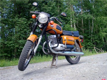 Мотоцикліст в'їхав в огороджу