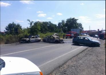 У Мукачевому в результаті стрілянини поранено 8 правоохоронців