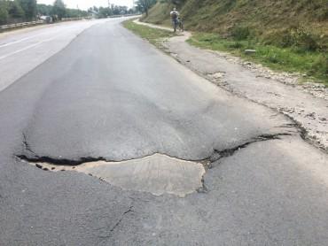 Нові дорожні жахіття на Тернопільщині (фото)