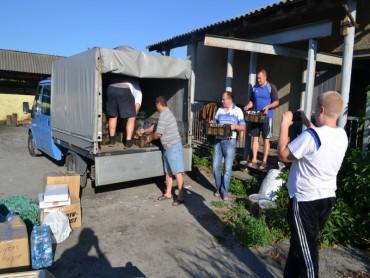 Вісті прибуття чергового вантажу «Схід та Захід єдині» на Донбас