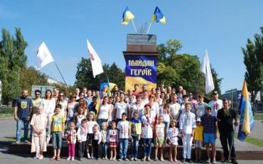 Активісти «Народного контролю» замість Леніна встановили тризуб