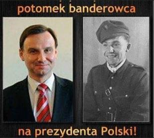 Дідо президента Польщі Анджея Дуди воював у лавах УПА
