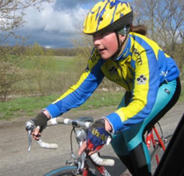 Українська велосипедистка, яку збив автомобіль декілька днів тому, здобула срібну медаль