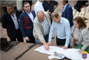 Ігор Вонс постояв з губернатором (фото)