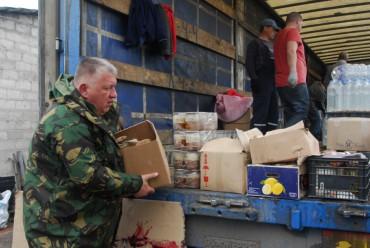 """Вісті з передової від групи """"Схід та Захід єдині"""": тяжкі марші від Станиці Луганської до Пісок"""