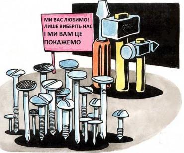 641 кандидат в депутати хоче посісти 43 крісла в мерії Тернополя