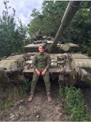 У депутати Збаразької міської ради балотується боєць АТО Олександр Саричев