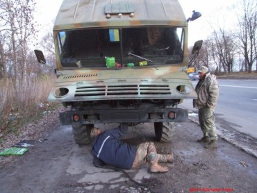 """Як група """"Схід та Захід єдині"""" у Тернополі колоні розвідників допомагала"""