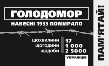 80% українців вважають Голодомор 1932-33 років геноцидом українського народу