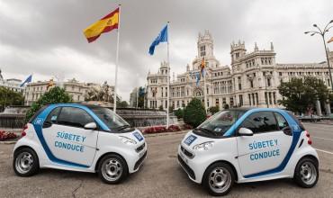 Мадрид запускает сервис краткосрочной аренды городского электромобиля