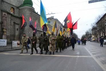 У Тернополі вимагали волю в'язням режиму Порошенка