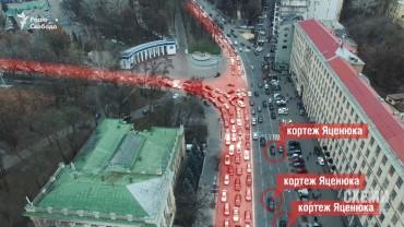 Яценюк обдурив українців: обіцяв ліквідувати кортежі, але досі так їздить