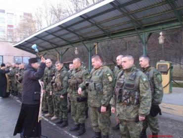 Чергова ротація бійців батальйону «Тернопіль» та допомога групи «Схід та Захід єдині» у Тернополі