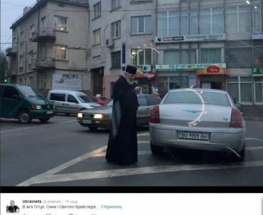 У Тернополі пропонують помолитись за мир і перемогу із загарбниками землі у парку Національного Відродження
