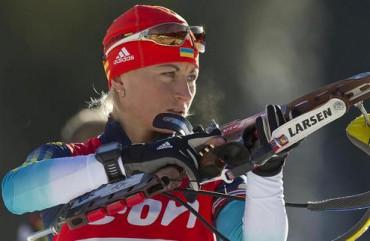 Українська біатлоністка здобула перемогу на Кубку Словенії