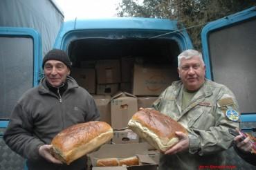 З Озерної на Донбас поїде 25 тонн харчів для воїнів АТО