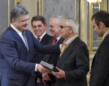 Промова Вакарчука до Порошенка під час нагороди орденом Свободи (повний текст)