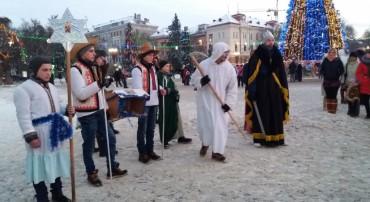Вертеп у Тернополі (відео)