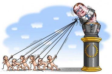 Яценюк у боргу перед парламентськими ляльководами