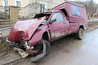 Під час автопригоди травмувався неповнолітній пасажир