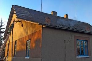 На Бережанщині горіла школа