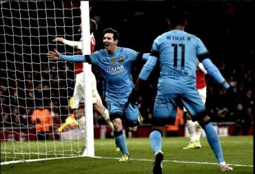 """""""Арсенал"""" програв """"Барселоні"""" 0:2, а """"Ювентус"""" розійшовся миром з """"Баварією"""" (відео)"""