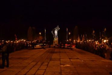 """29 січня центральними вулицями міста пройшов марш пам'яті героїв Крут під назвою """"Волю в'язням режиму!"""""""