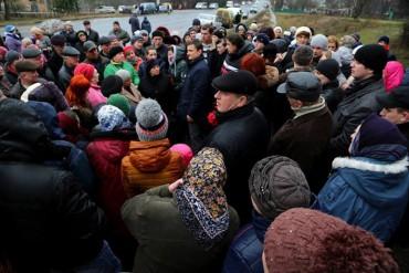 Михайло Головко підтримав у Вишнівці людей, які виступають проти закриття лікарні