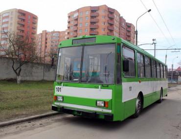 Капітально відремонтований тролейбус виїде на вулиці Тернополя