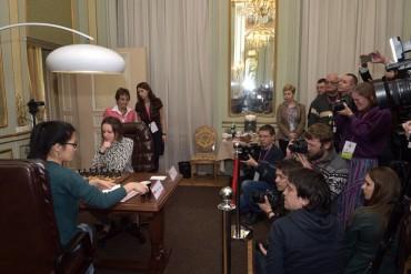 Львів'яни підтримують українку Марію Музичук на чемпіонаті світу з шахів серед жінок