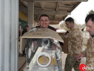 Українська діаспора надіслала зі США до Тернополя понад 14 тонн допомоги