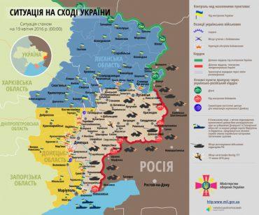Поблизу Мар'їнки та Докучаєвська бойовики випустили по позиціях українських військових понад 120 мін та більше 30 артснарядів