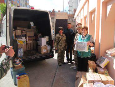 Перед Великоднем волонтери з Тернополя поїхали на Схід
