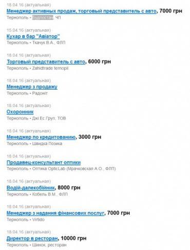 У Тернополі є вакансія директора ресторану за 10 тисяч гривень