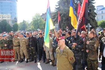 У Івано-Франківську воїнам набридли побрехеньки влади