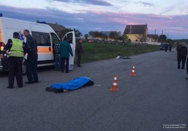 Смертельне ДТП на Тернопільщині: іномарка збила велосипедиста