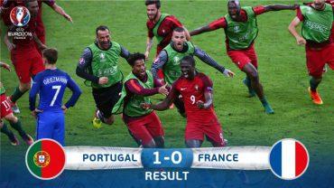 Португалія вперше в історії виграє Чемпіонат Європи