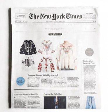 Вишиванка – тренд літа 2016 за версією The New York Times