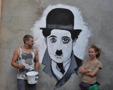 Арсен Мірзоян виступив на Respublica FEST та створив мурал у Кам'янцю