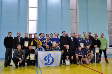 Волейбольний турнір, присвячений Дню захисника України, відбувся в Тернопільському управлінні СБУ