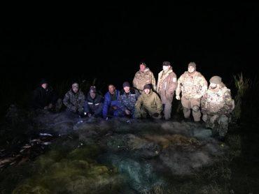 У Касперівському заказнику державного значення громадські активісти виявили три кілометри браконьєрських сіток