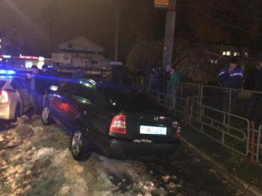 У Тернополі затримали п'яного водія начальника карного розшуку