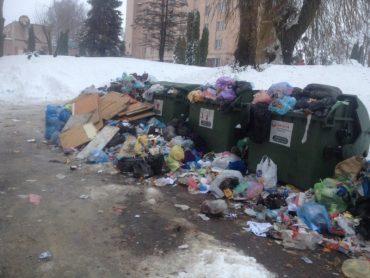 Після снігового колапсу Тернопіль очікує сміттєва навала?